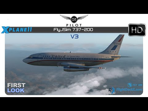 FlyJSim 737-200 V3 released! - The X-Plane General Discussions Forum