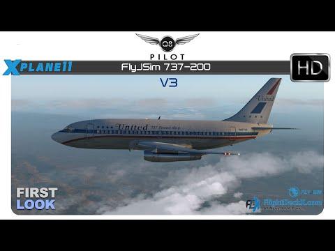 [X-Plane 11] FlyJSim 732 TwinJet v3 | KSFO ✈ KFAT | First Look