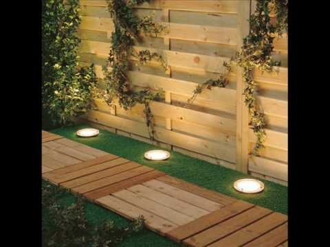 garden lighting design tips