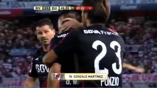 Gol de Martínez  River 2 Quilmes 1  Fecha 1  Primera División 2016