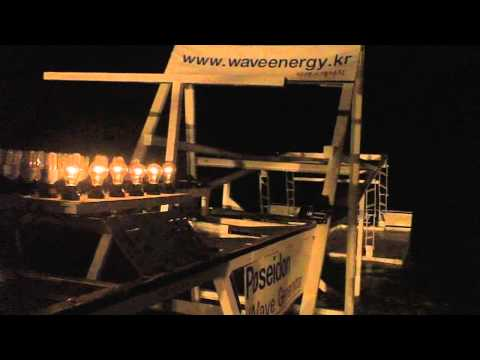 Wave energy korea [ wave power generation ] - By sharens.