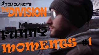 The Division Funny Moments #1 Feat. Those Eyebrows