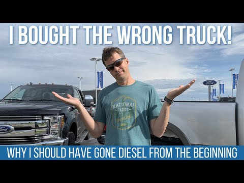 I Bought The Wrong Truck! // F250 Gas vs. F350 Diesel [EP 15]