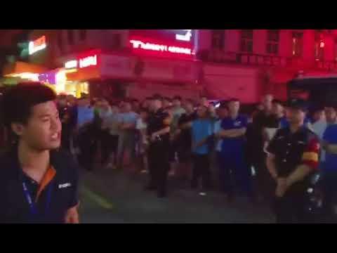 Yu Juncong's impromptu speech (Shenzhen Jasic worker trying to set up trade union)