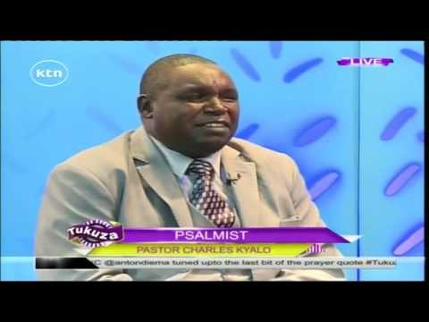 Tukuza 18th September 2016 Psalmist with Pastor Charles Kyalo