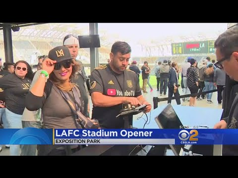 Fans Excited For LAFC Stadium Opener