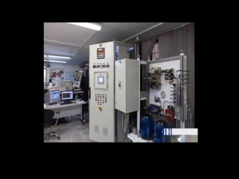 Iran made Hydro turbine governor, Sharif University of Technology ساخت هدايتگر توربين آبي ايران