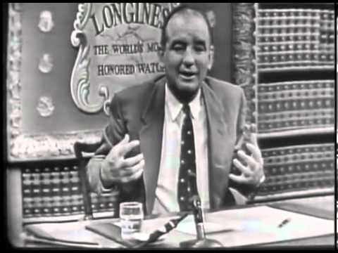 Joseph McCarthy Interview on Truman, the Senate and McCarthyism (1952)