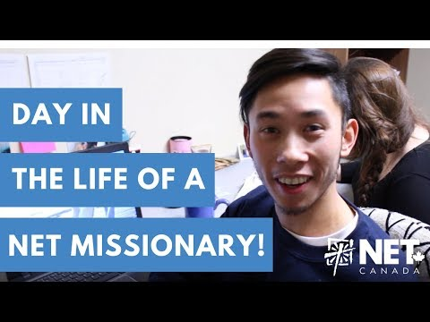 Day in the Life of a NET Canada Missionary