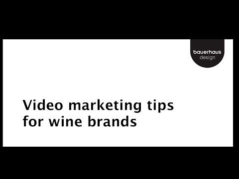 Wine Marketing Video Tips: Part 1