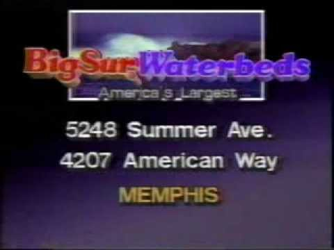 Big Sur Waterbed Commercial Houston 1980 S Doovi
