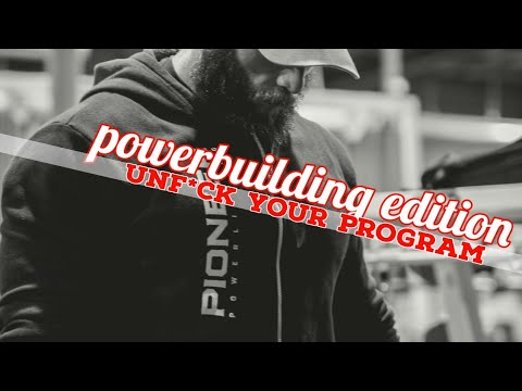 Massive Freak 4 Day Powerbuilding Split