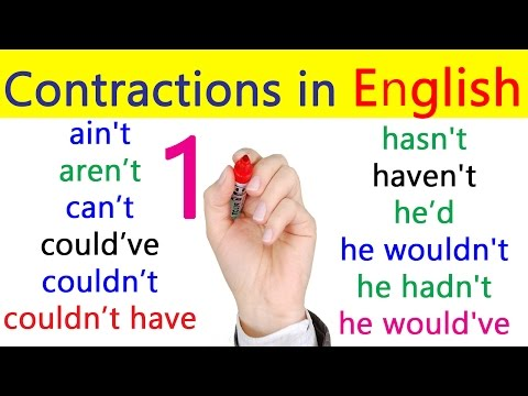 Contractions in English | English Grammar Lessons for Beginners in Hindi