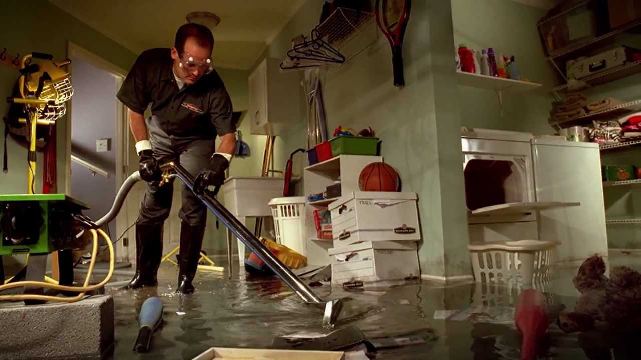flooded basement cleanup peoria il water damage restoration youtube rh youtube com Flooded Finished Basement Funny Flooded Basement