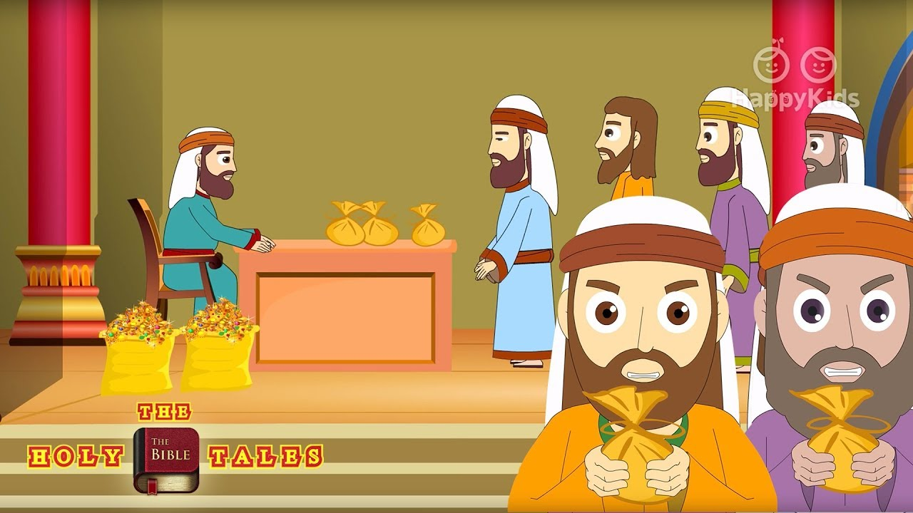 Jesus and the Tax Collector - Bible Stories For Children