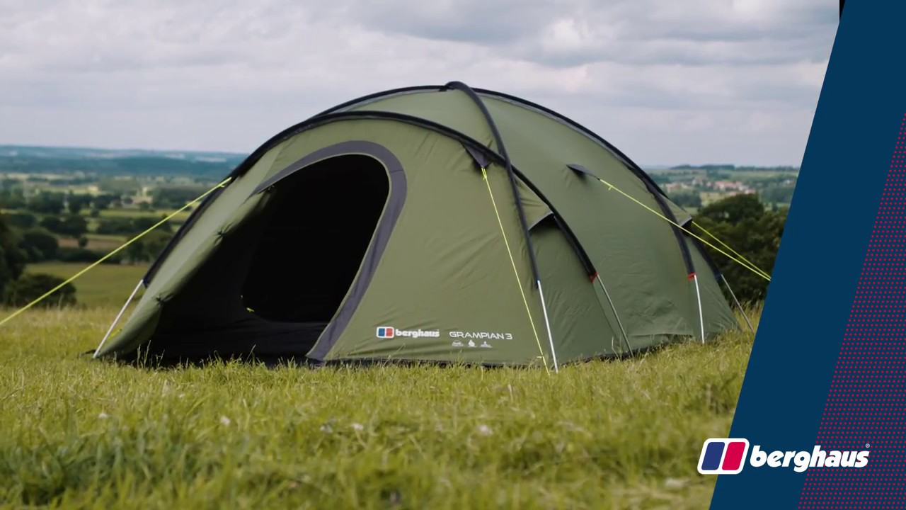 closer at footwear new arrive Berghaus Grampian 3 Tent