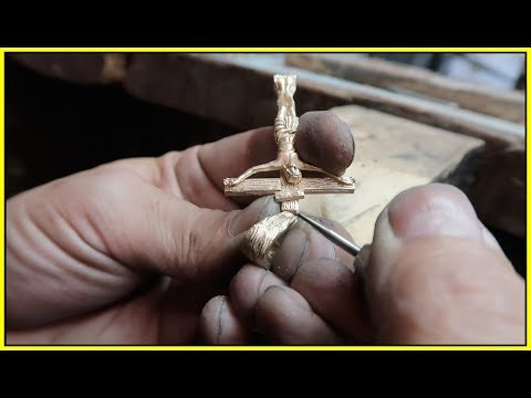 Creating A CRUCIFIX Pendant