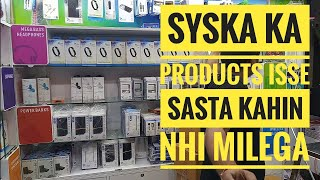 Wholesale syska brand mobile all accessories   charger earphones bluetooth power bank