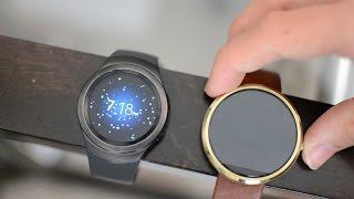 Moto 360 vs Gear S2 : Voice Commands