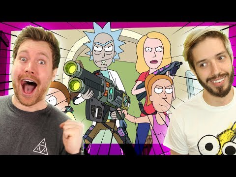 WHO'S THE PARASITE? | Rick and Morty's Total Rickall