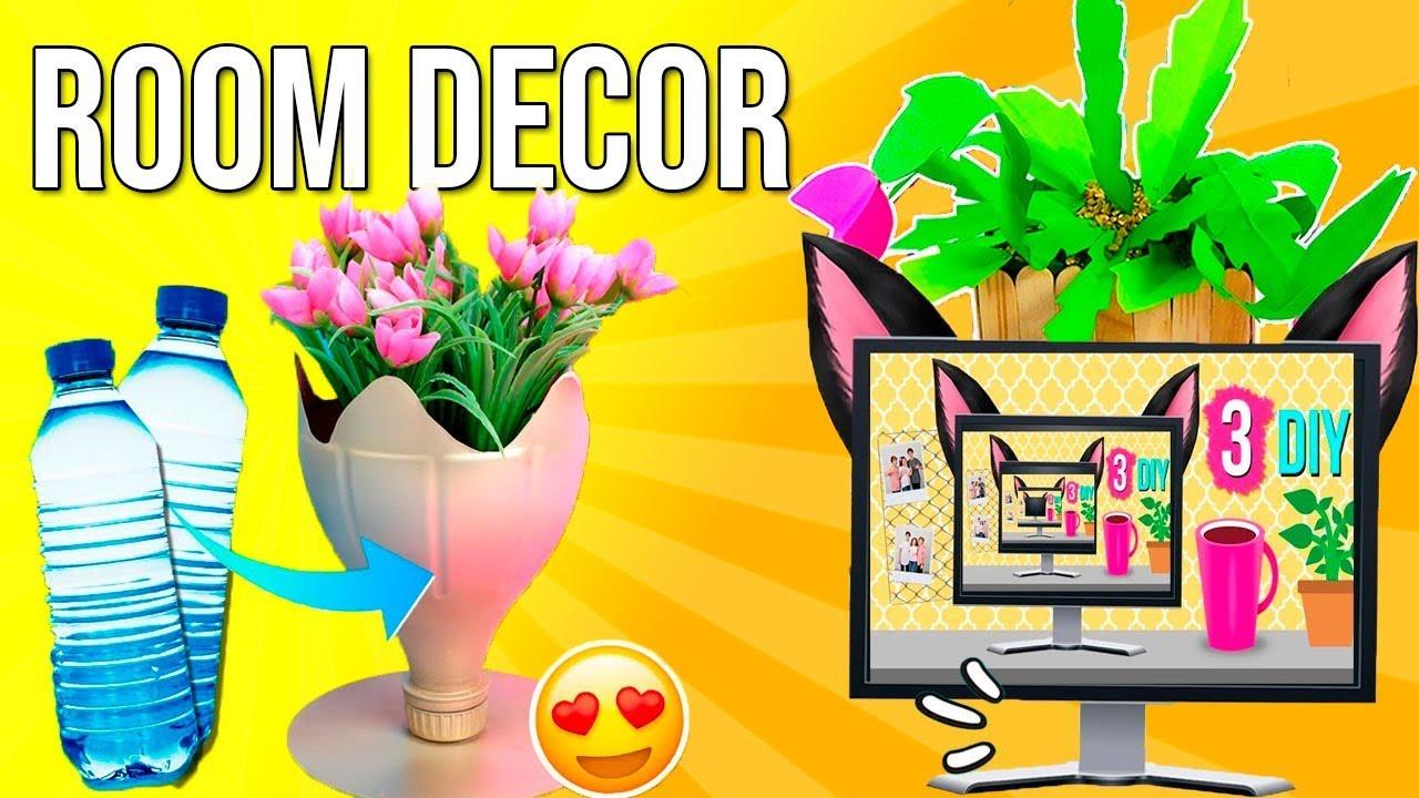 Las MEJORES IDEAS DIY para DECORAR tu HABITACIÓN!! ?ROOM ... on Room Decor Manualidades Para Decorar Tu Cuarto id=68932