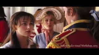This mariah carey without you music video features clips / scenes from the 2005 film pride & prejudice -- an adaptation of a 1813 romantic novel by jane aust...