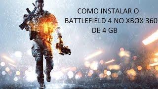 como instalar Battlefield 4 no xbox 360 RGH/JTAG