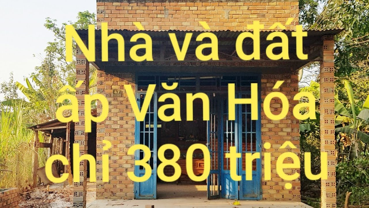 Nhà đất giá rẻ Tân Biên Tây Ninh | Nhà đất 380 triệu | Hoàng Minh Bđs video 4 ( Đã Bán )