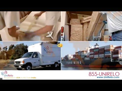 UniRelo - USA to India Shipping Services