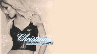 Christina Aguilera - Christmas Time + Lyrics