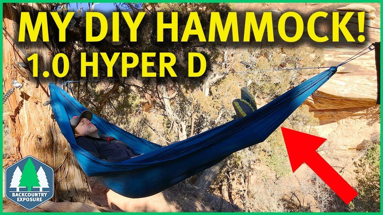 my diy hammock   no more ground dwelling  backcountry exposure my diy hammock   no more ground dwelling    youtube  rh   youtube