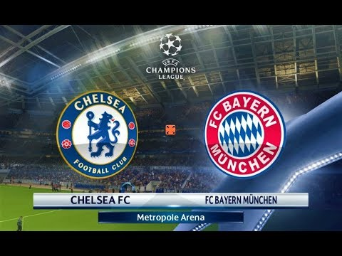 Chelsea vs Bayern Munchen | UEFA Champions League 2018 | PES 2018 Gameplay HD