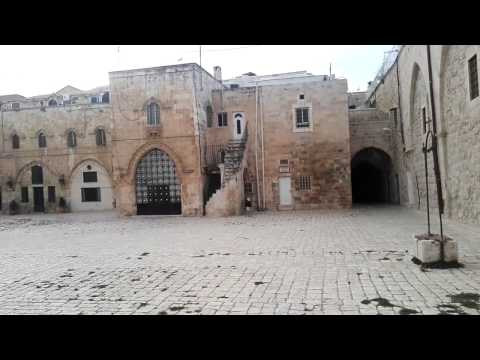 A tour of the Armenian Quarter, the Old City of Jerusalem - a place that is not open to the public
