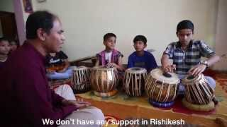 Overview of the C J Maa Music School Rishikesh India