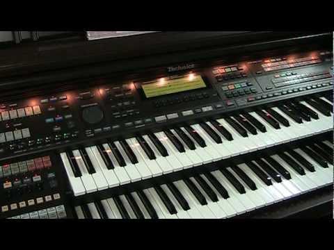 Technics SX-FN3 Organ - MIDI Controller, Overview and Demo