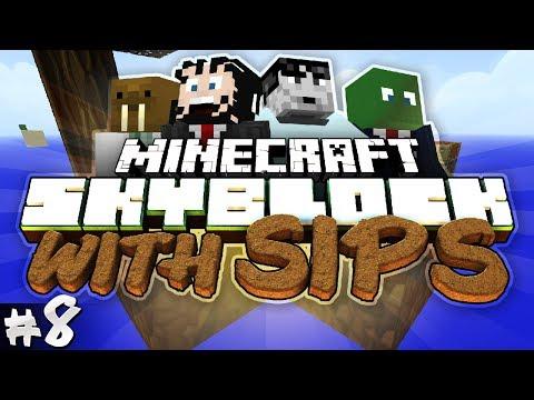 Minecraft: Skyblock with Yogscast Sips #8 - Pumpkin Pyromancy!
