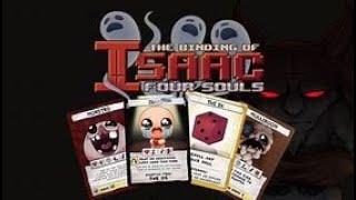 Lets look at The Binding of Isaac Four Souls - Gold Box Kickstarter edition!