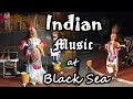 INDIAN music in ROMANIA at Black Sea