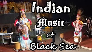 INDIAN music in ROMANIA at Black Sea