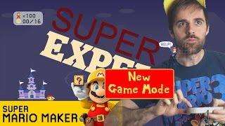 Mario Maker SUPER EXPERT Skipless Challenge (Current Streak: 1) - Panga'ish on the last level? WHY?