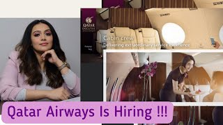 How to apply for Qatar Airways Executive Cabin Crew  Step by step guide to apply   Twinkle Anand