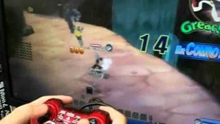 ロエンテイルのゲームパットでのプレイ動画