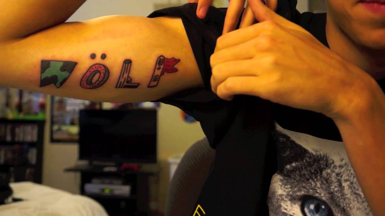I Got the Wolf Tattoo! - YouTube
