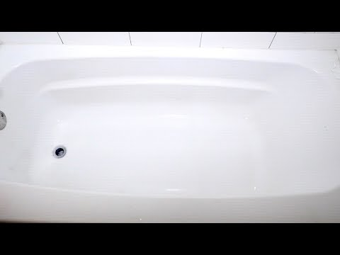 How to clean your bathtub quickly and easily