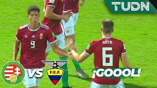 ¡Tranquilos! Nemeth lo empata | Hungría 2 - 2 Ecuador | Mundial Sub-17 | G - B | TUDN