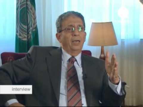euronews - interview - Amr Moussa : Secrétaire général de la Ligue arabe