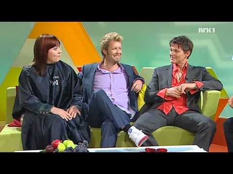 "Morten Harket & Magne Furuholmen Interview on ""førkveld"" - NRK1 -"