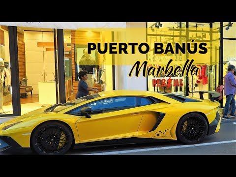 PUERTO BANUS, Marbella, Spain / Supercars, Yachts & Boutiques