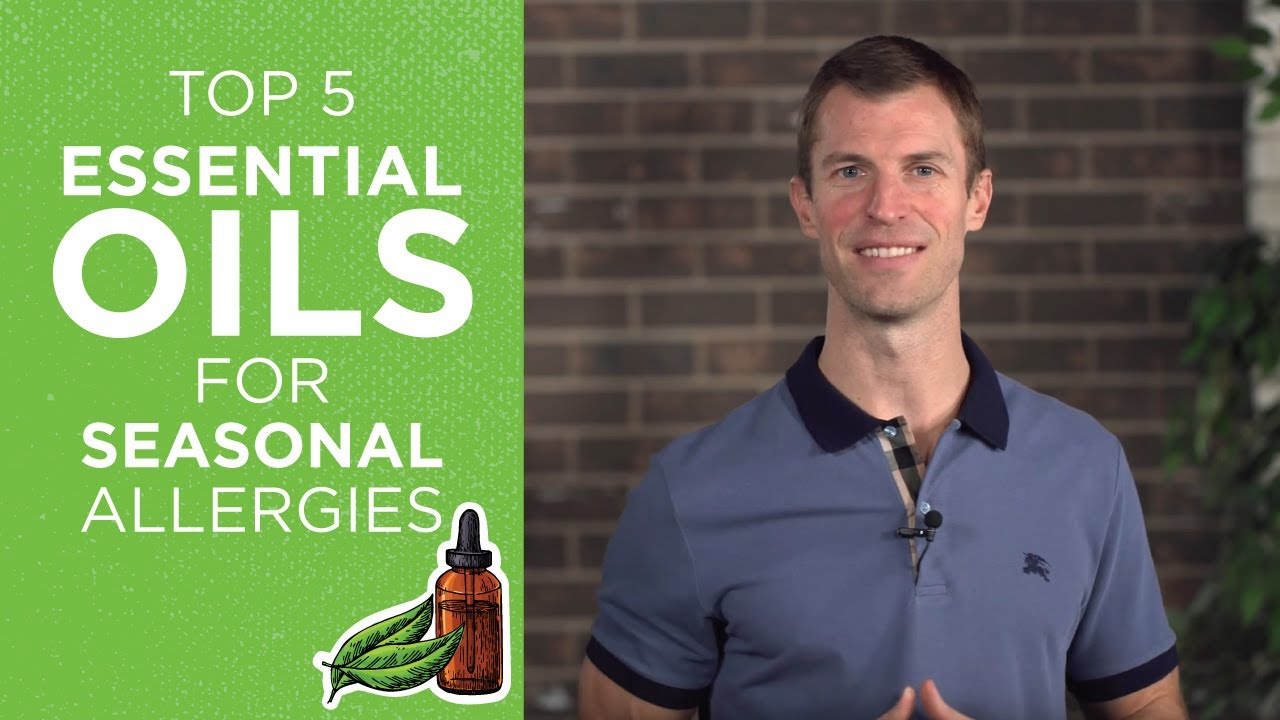 Top Essential Oils for Allergies | How to Use Essential Oils for Sinus Relief | Dr. Josh Axe