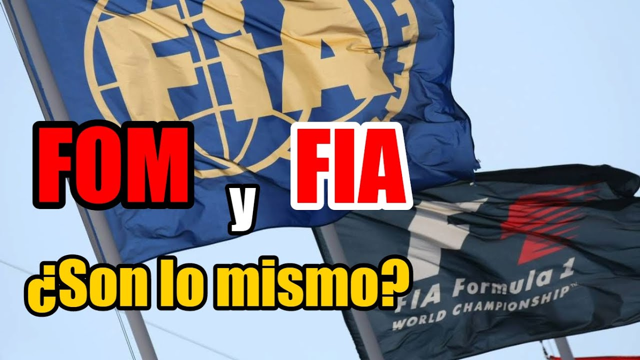 ¿Qué es la FOM ???? en la FORMULA 1? ???? Diferencia entre FOM y FIA en la F1 | Explicación ✅
